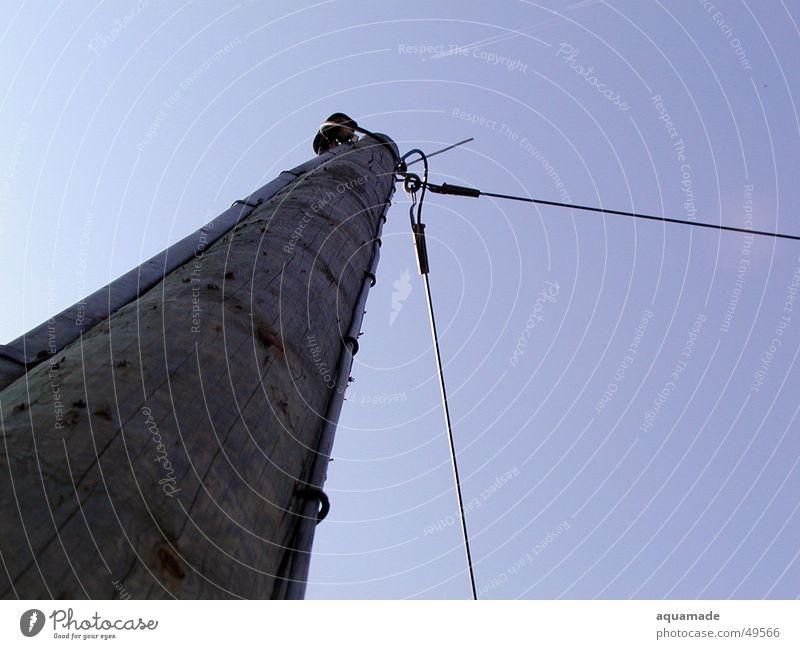 Telephonmast Himmel Leitung Telefonmast