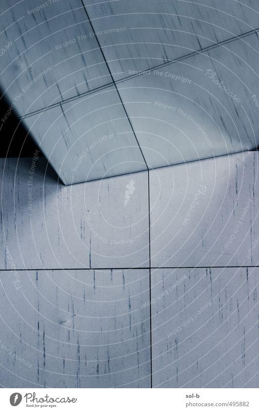 dunkel Innenarchitektur Linie Häusliches Leben verrückt ästhetisch Bodenbelag Kreativität einzigartig Bad Fliesen u. Kacheln Spiegel eckig seltsam Spiegelbild