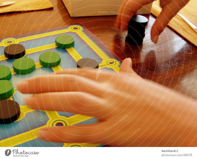 lass uns spielen II Spielen Mühle Brettspiel games fun Freude Spielfigur