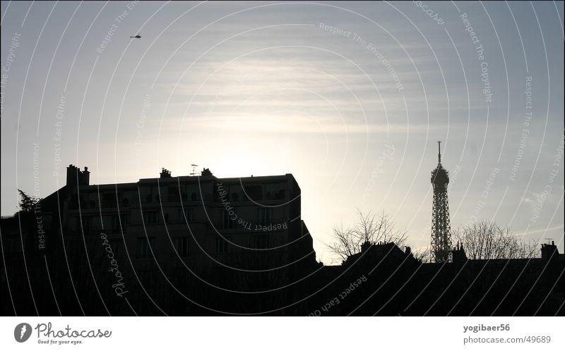 Helicopter über Paris Hubschrauber Tour d'Eiffel