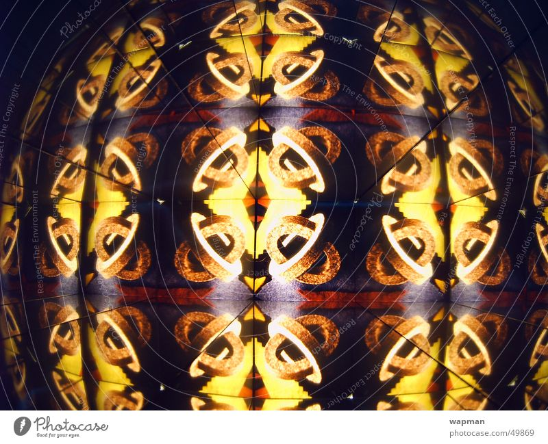 blinkdablink mehrfarbig Muster Kaleidoskop durcheinander schwindelig Farbe