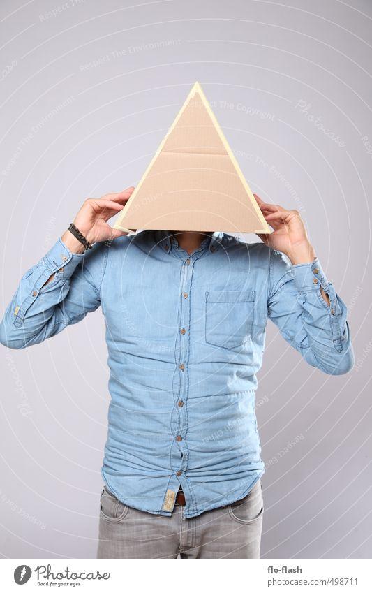 ECKART THE DREIECK Design lernen Student Mensch maskulin Junger Mann Jugendliche Erwachsene 1 18-30 Jahre 30-45 Jahre Skulptur Theaterschauspiel Maske Denken