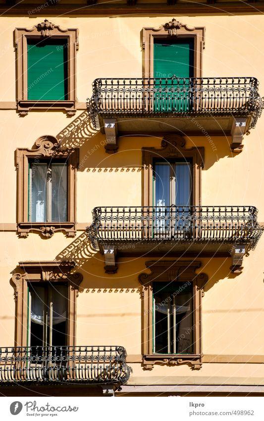 Ferien & Urlaub & Reisen alt Stadt grün schwarz Architektur Linie Metall braun Fassade dreckig offen Europa Beton Ausflug historisch