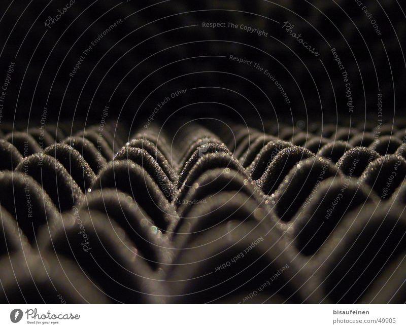 Raster aus dem Leben II Berge u. Gebirge Raum Isolierung (Material) Klang Raster Krach Noppe Schaumstoff Lärmdämmung