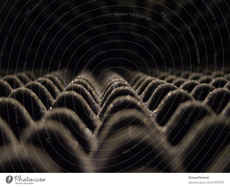 Raster aus dem Leben II Berge u. Gebirge Raum Isolierung (Material) Klang Krach Noppe Schaumstoff Lärmdämmung