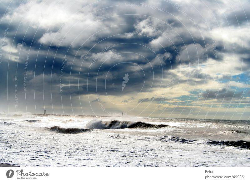 Sturm Wasser Meer Wolken See