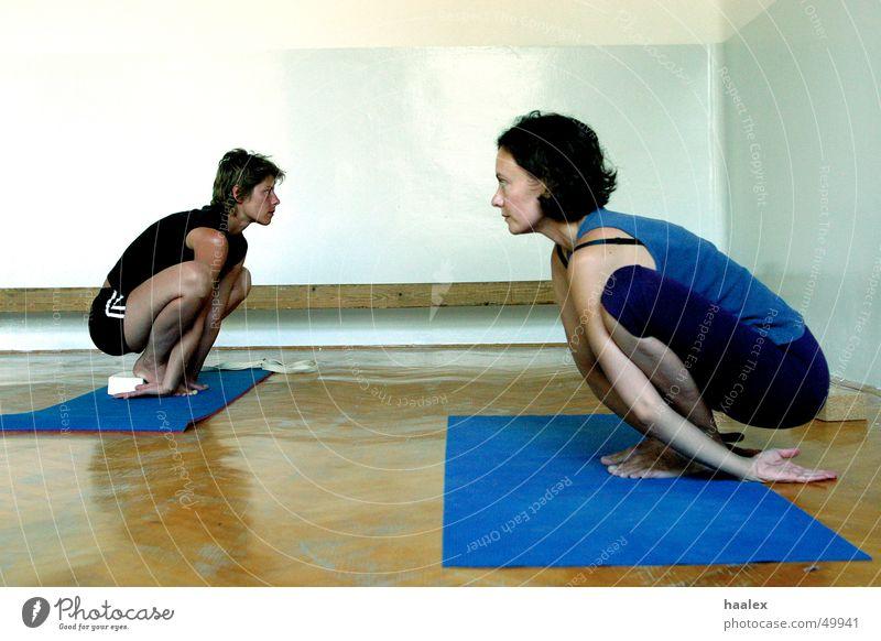 Entspannt Erholung Freizeit & Hobby Yoga hockend