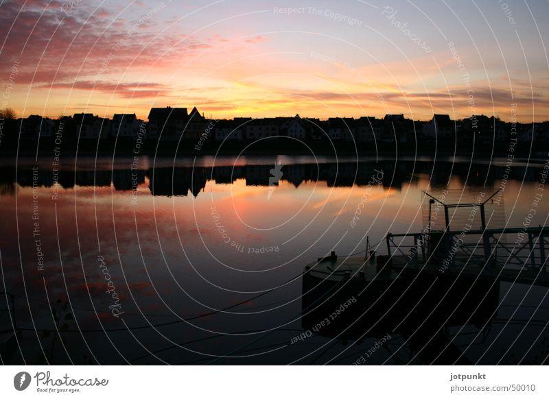 liebes licht Rhein Abendsonne Koblenz
