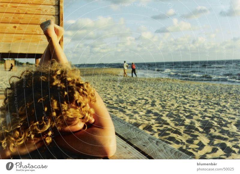 Sommerabschied Meer Sommer Strand