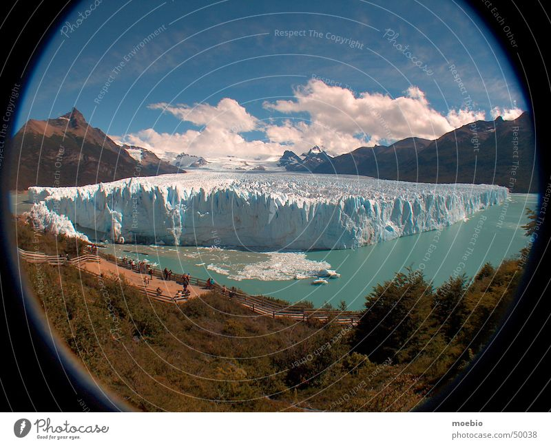 La Mole Himmel Argentinien Amerika Schnellzug Patagonien Glacier Nationalpark Perito Moreno Gletscher