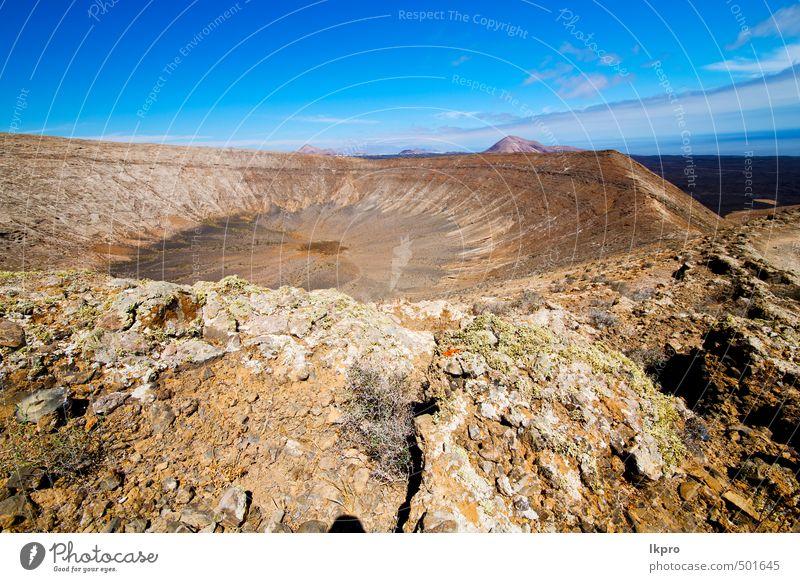 vulkanisch Ferien & Urlaub & Reisen Tourismus Ausflug Abenteuer Sommer Insel Berge u. Gebirge Natur Landschaft Pflanze Sand Himmel Wolken Blume Park Hügel