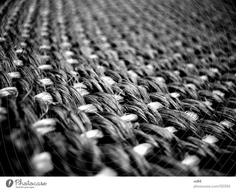 Ikea Impression 2 Teppich Muster Stoff Holz grau schwarz weiß geflochten Material Vorleger Dekoration & Verzierung ikea rattan Bambusrohr binden
