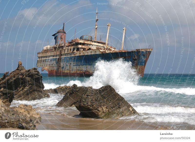 American Star Strand Wasserfahrzeug Wellen Kreuzfahrt Fuerteventura Kanaren