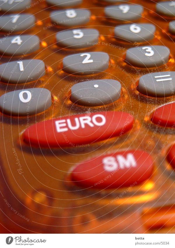 Euro Umrechner Taschenrechner Elektrisches Gerät Technik & Technologie Tastatur