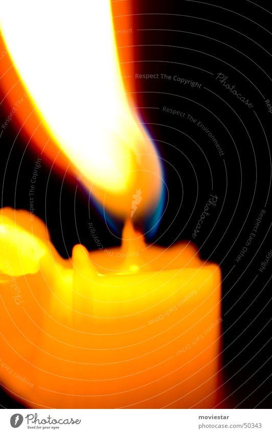 Kerzenflamme Flamme Wachs Kerzendocht