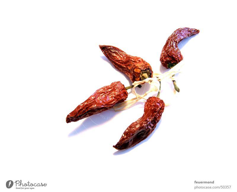 Dörrgemüse rot Ernährung Kochen & Garen & Backen Scharfer Geschmack Gemüse getrocknet Schnurren verdorrt feurig