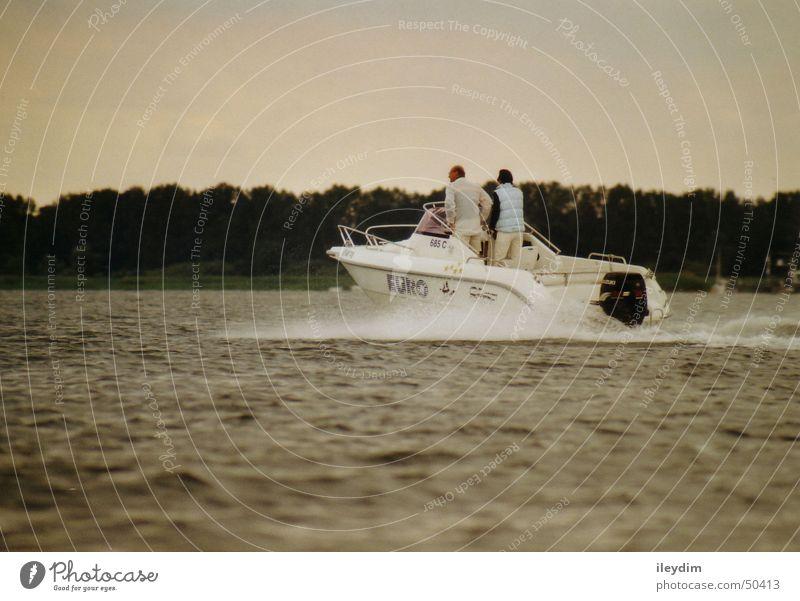 Motorboot Wasser Ferien & Urlaub & Reisen See Wasserfahrzeug