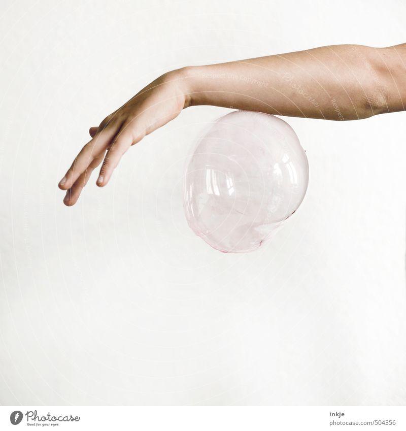 Schwebeballett 2 | Tanz Freude Freizeit & Hobby Spielen Kinderspiel Kindheit Jugendliche Leben Arme Hand 1 Mensch 8-13 Jahre Luftballon Kugel Blase hängen