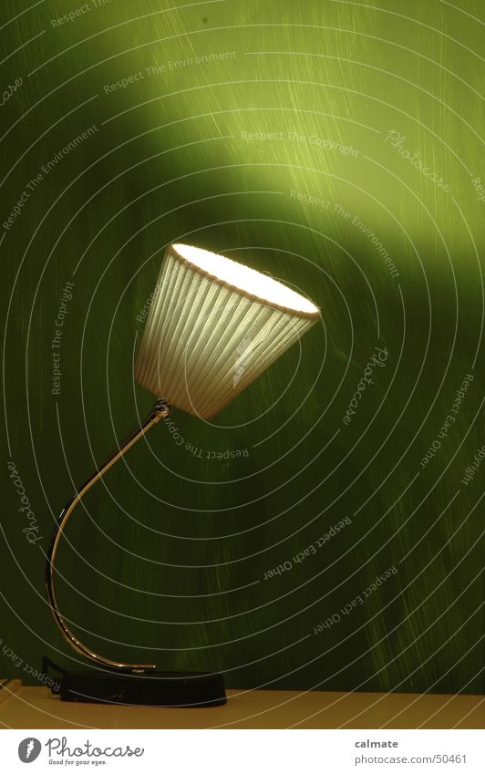 - retrolook II - alt Nostalgie altmodisch Tischlampe