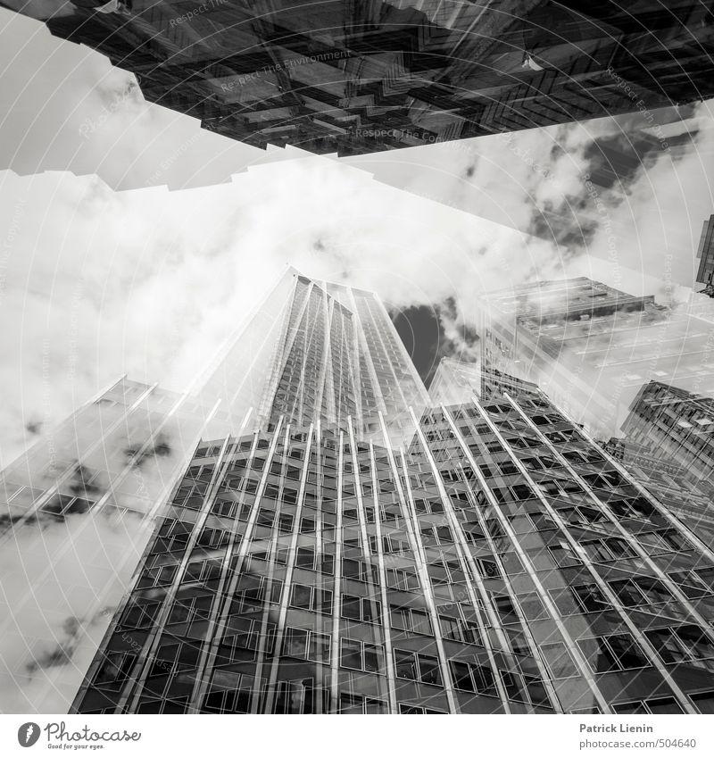 ... den Drogen Stadt dunkel Umwelt Bewegung Linie Business Kraft Zufriedenheit Hochhaus modern Urelemente Technik & Technologie Kreativität Güterverkehr & Logistik USA Stress