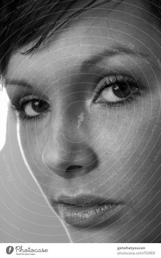 Weniger hart aber immernoch herzlich Teil2 Frau schön Gesicht Auge Kopf Mund Publikum Wimpern