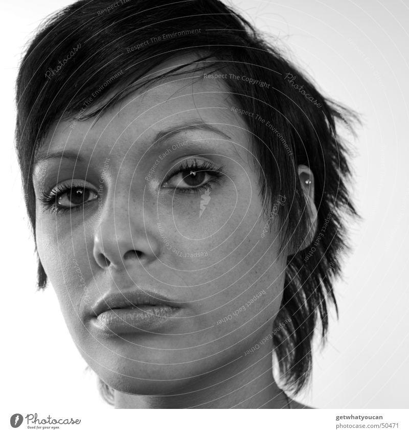 Weniger hart aber immernoch herzlich Teil3 Frau schön Gesicht Auge Kopf Mund Publikum Hochmut frontal eitel