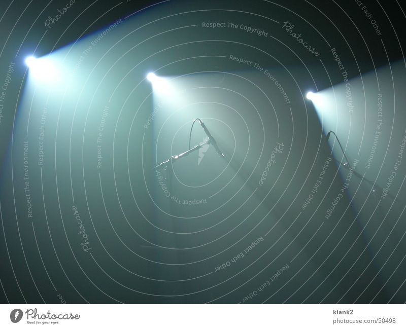 Lichterflut Mikrofon Konzert Musik