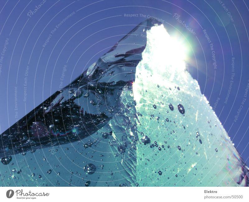 Айсберг Ferien & Urlaub & Reisen Sonne Berge u. Gebirge kalt Eis Ecke Gipfel Klettern Bar Handwerk gebrochen Alkohol