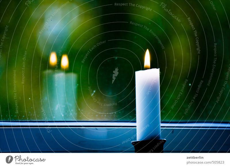 Kerze Weihnachten & Advent Freude Fenster Gefühle Feste & Feiern Freizeit & Hobby Wohnung Raum Häusliches Leben Lifestyle Dekoration & Verzierung Romantik