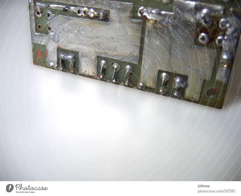 Platine silber Informationstechnologie Elektronik Platine Elektrisches Gerät