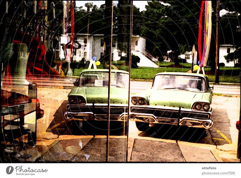 Atlanta, Oldtimer PKW Dinge Georgia Straßenkreuzer