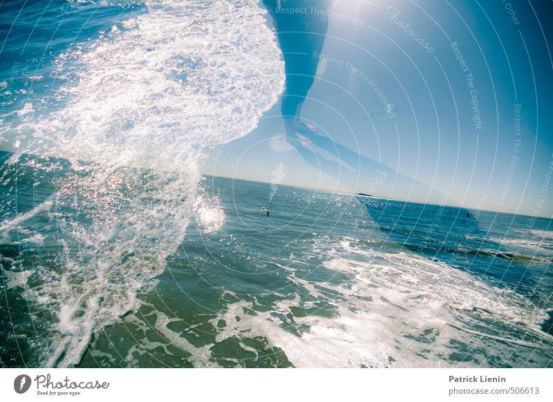Stürmische Zeiten Natur Wasser Sommer Sonne Meer Erholung Einsamkeit Landschaft ruhig Strand Umwelt Leben Küste Schwimmen & Baden Gesundheit Stimmung