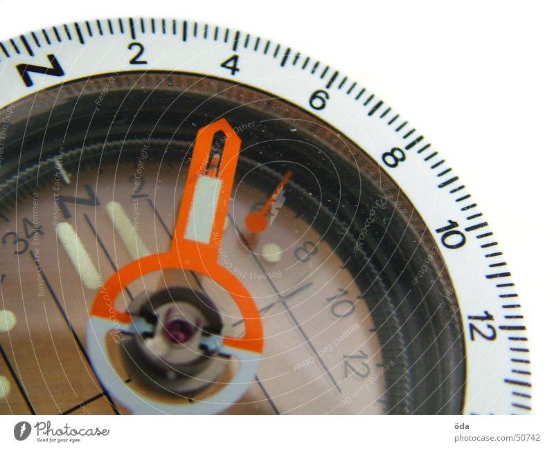 40° NordNordOst Wege & Pfade Richtung Norden Orientierung Kompass Grad Celsius Skala Himmelsrichtung Deklination Kompassnadel
