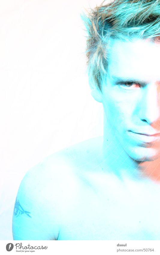i´m blue Gesicht