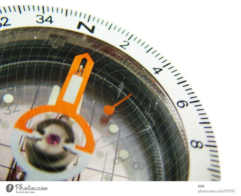 nordwärts Wege & Pfade Suche Richtung Physik Norden Orientierung Kompass Grad Celsius Skala Himmelsrichtung Deklination Kompassnadel