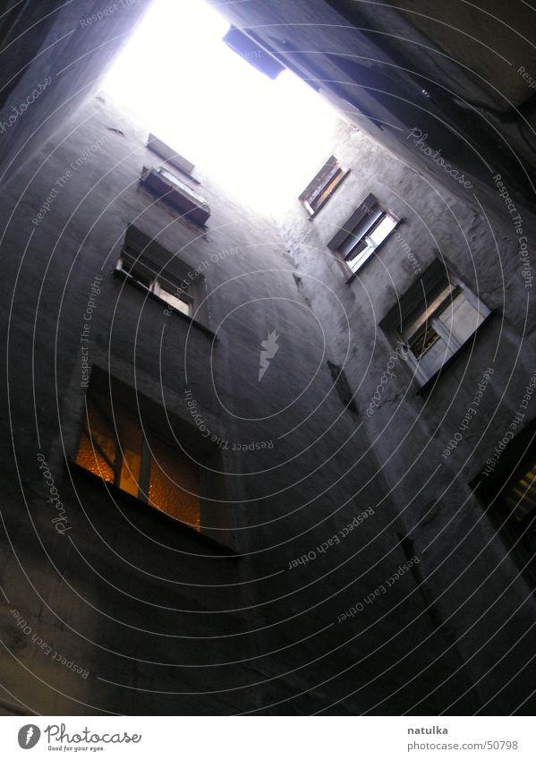 walls Himmel Einsamkeit Wand Fenster Mauer
