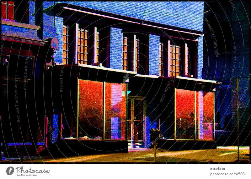 Laden in Washington, D.C. Haus Architektur Ladengeschäft Washington DC
