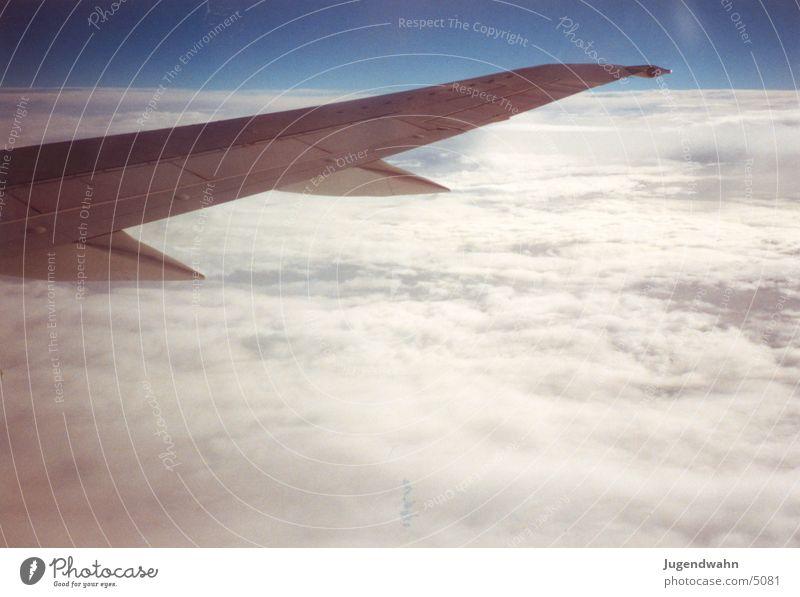 Flugzeug - Tragfläche 1 Luftverkehr
