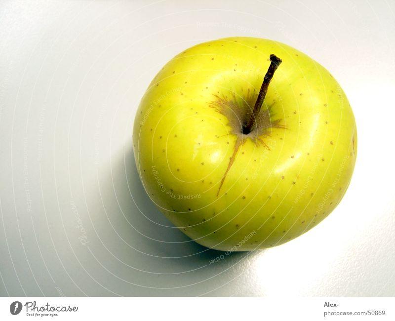 Apfel grün gelb Gesundheit Vitamin Baum gold delicious oben Frucht Ernährung