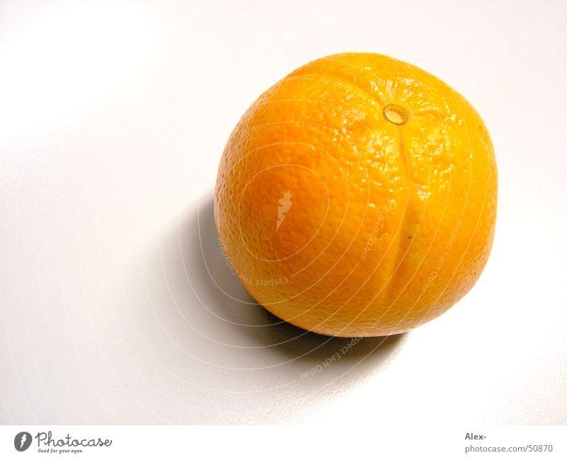 Orange orange Gesundheit Frucht Vitamin saftig Holztisch