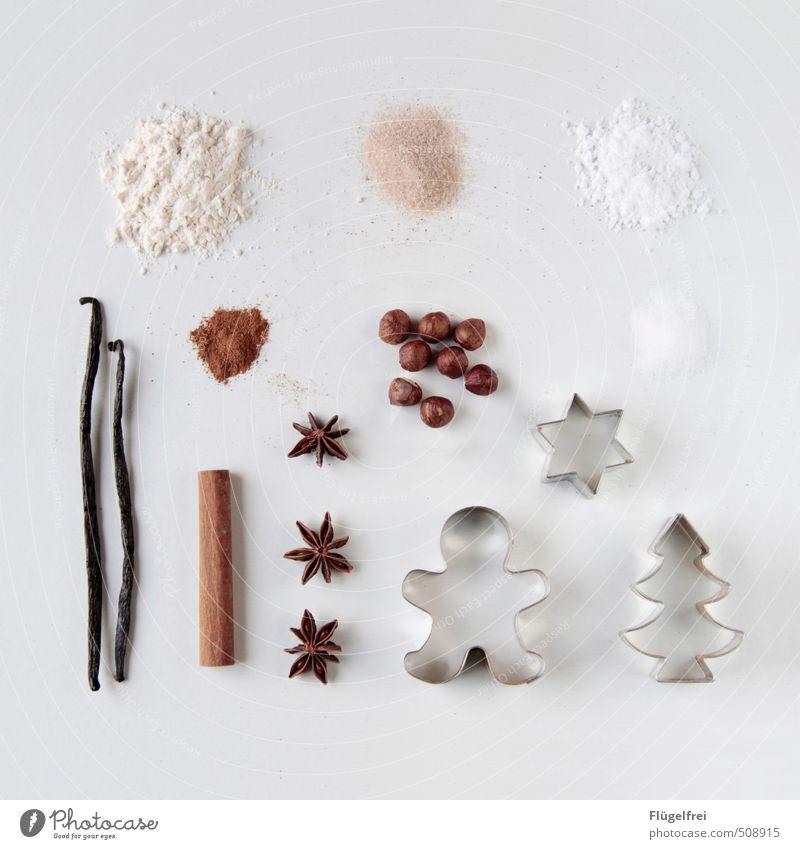 Weihnachtsbackset Weihnachten & Advent schön Feste & Feiern Ernährung genießen Kochen & Garen & Backen Stern (Symbol) Kräuter & Gewürze Süßwaren Tanne Zucker
