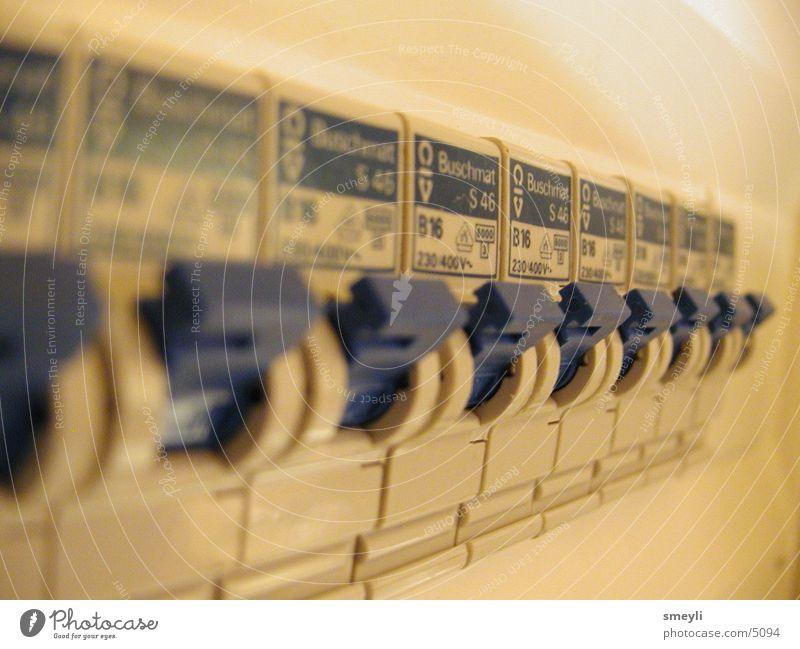blue fuses Elektrizität Technik & Technologie Schalter Absicherung Elektrisches Gerät Hebel
