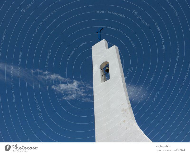 Kirche auf Samos Himmel Wolken Religion & Glaube Rücken Insel Griechenland