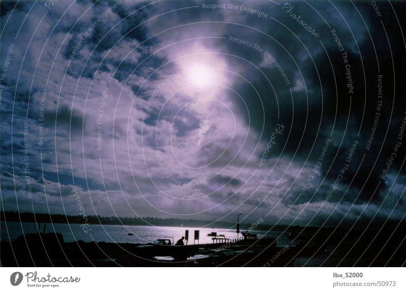 Morgens in Australien Meer Wasserfahrzeug
