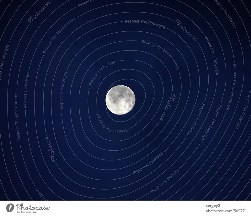 Himmels-Auge Natur blau Wolken dunkel Landschaft Stern Klarheit Kugel Alkoholisiert Mond Planet Himmelskörper & Weltall Relief Vollmond