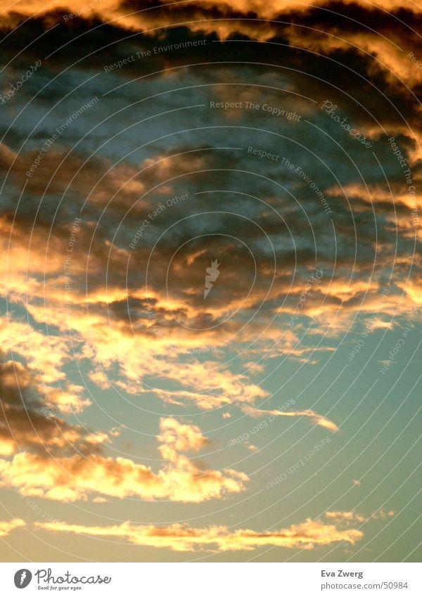 September Stimmung Himmel Sonne Wolken