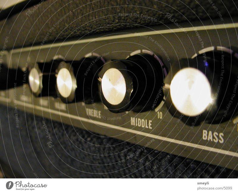 amp panel Musik Technik & Technologie Rad Knöpfe Kontrabass Lautstärke Elektrisches Gerät Drehregler