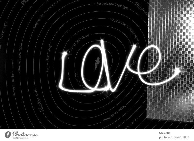 10 Sekunden Liebe Langzeitbelichtung Schwarzweißfoto Reaktionen u. Effekte effect