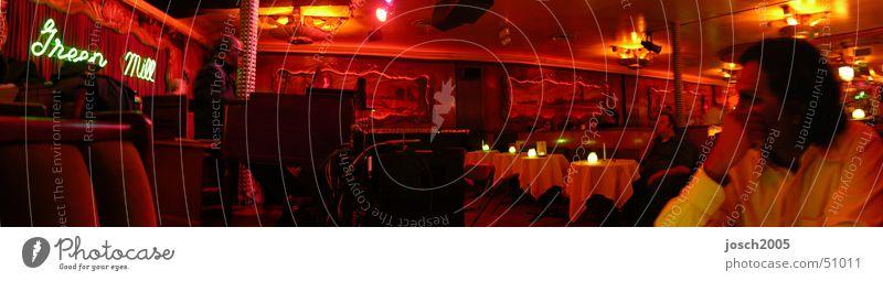 Green Mill - Jazzclub groß Bar Orgel Panorama (Bildformat) Chicago Hammond Orgel