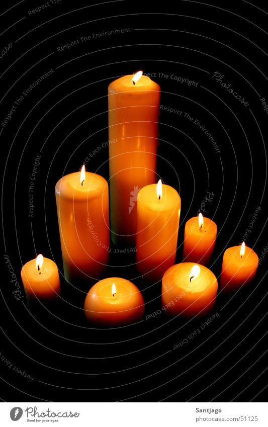 light in the dark Kerze Physik Romantik Wärme Brand